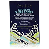 Pacifica Beauty Coconut Super Power Deep Conditioning Damage Control Single Pack Hair Mask, 1.5 Fluid Ounce (Tamaño: 6 Fl Oz)