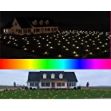 Lawn Lights Illuminated Outdoor Decoration, LED, Christmas, 36-08, Fast Morphing Multicolor (Color: Fast Morphing Multicolor, Tamaño: 1864 sqft (36-08))
