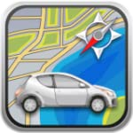 Car Navigator Freigrafschaft France -...