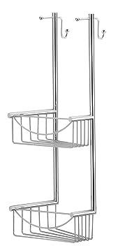 duschregal eck h ngeregal messing edelstahl rostfrei mit verstellbarben halterungen dc910. Black Bedroom Furniture Sets. Home Design Ideas