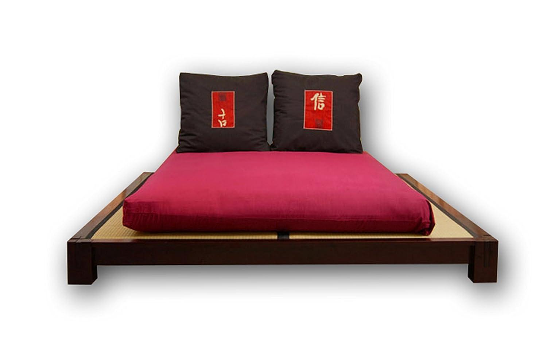Bett Tokio, Wenge 200x160x20 cm