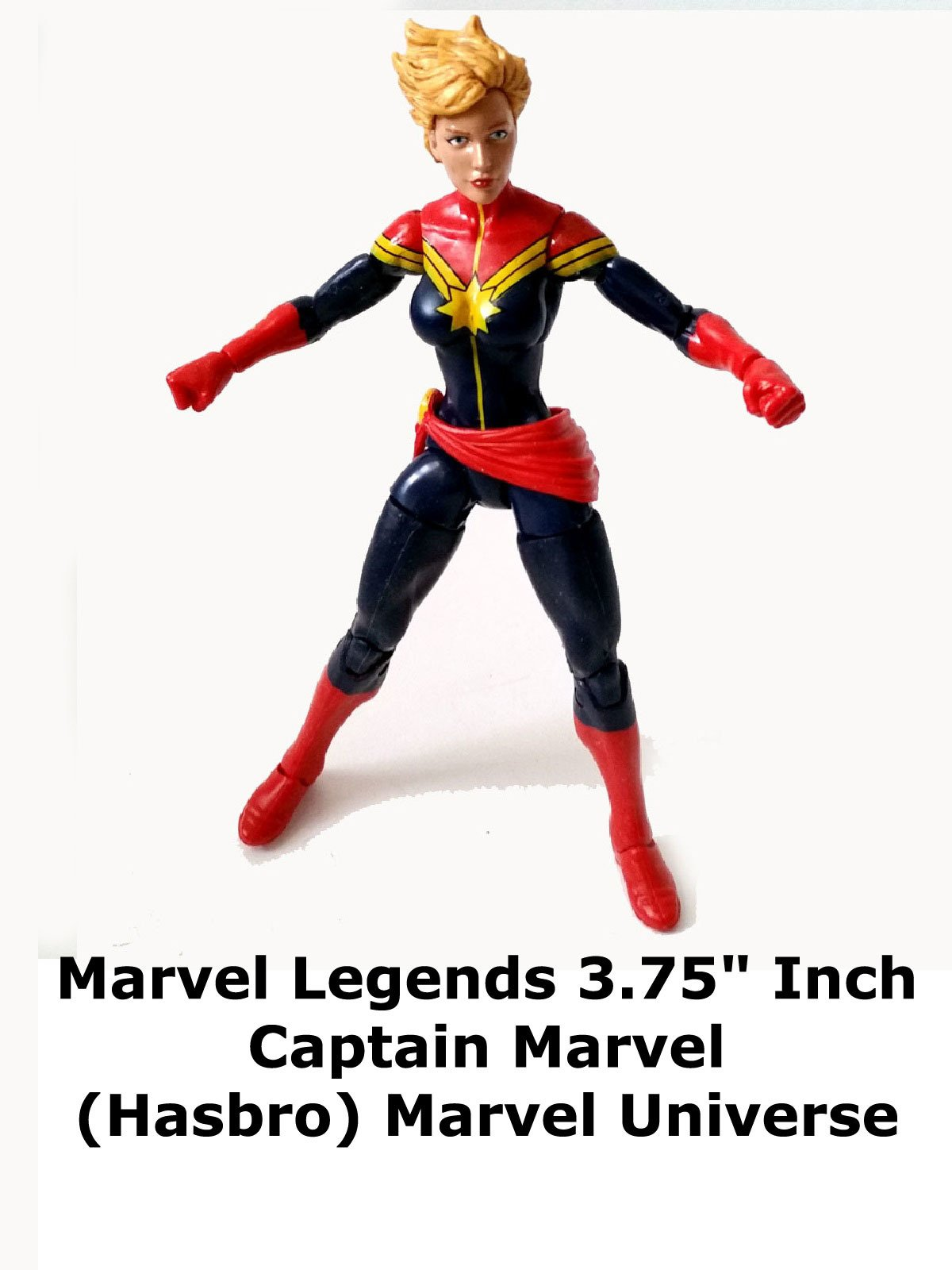 "Review: Marvel Legends 3.75"" Inch Captain Marvel (Hasbro) Marvel Universe"