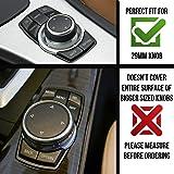 JD PARTS LLC BMW Multimedia Sound Button iDrive Controller Badge