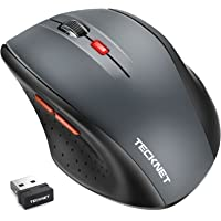 TeckNet Classic Wireless Optical Mouse (Grey)