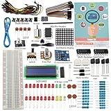 SunFounder Project Super Starter Kit for Arduino UNO R3 Mega2560 Mega328 Nano with Tutorial (Color: Super Kit V2.0)
