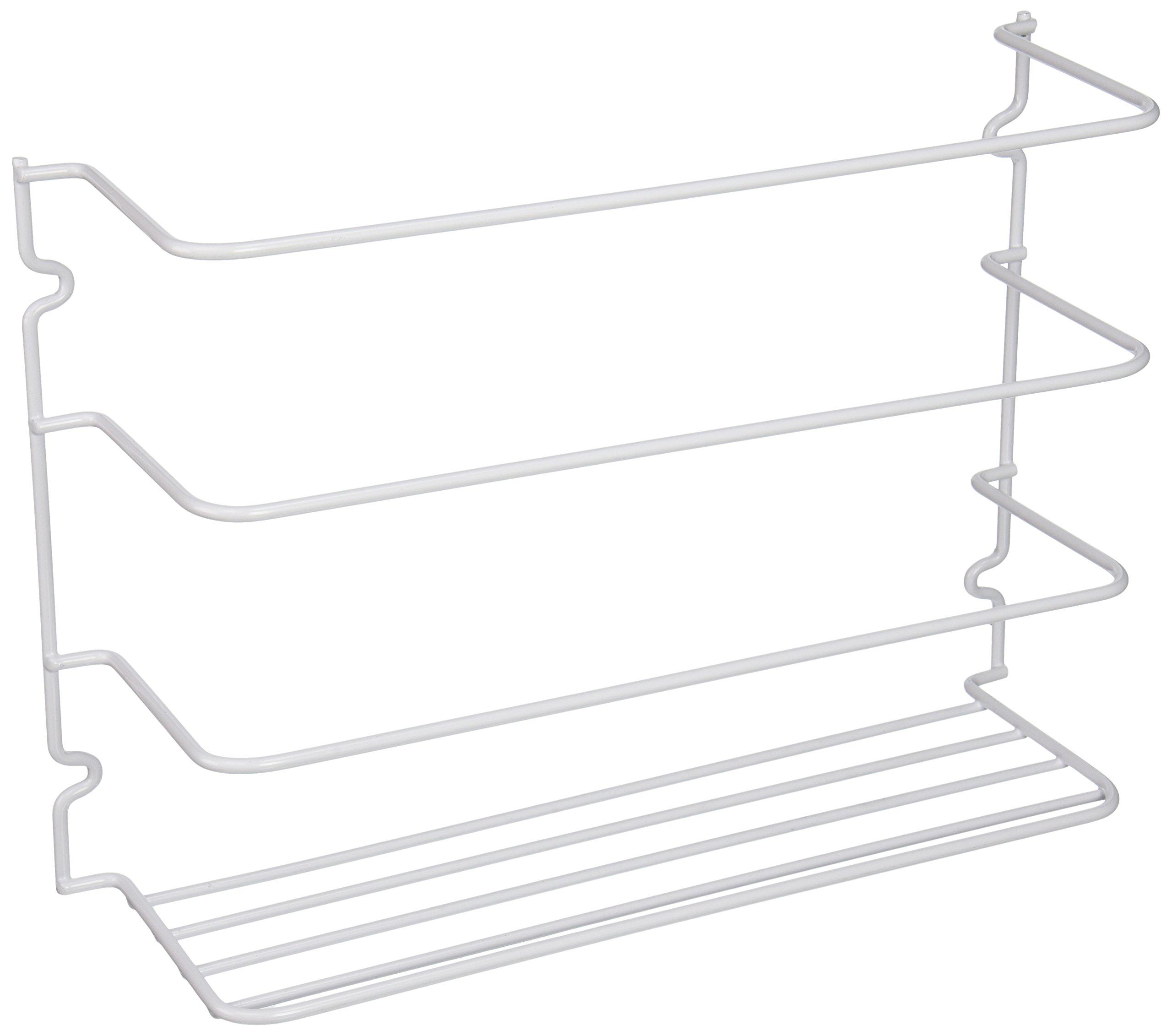 kitchen cabinet door wrap rack wall mount closet pantry