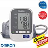 Omron Hem-7130 Blood Pressure Monitor 16 X 11 Gray