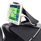 Car Phone Holder, Glamore NE-140 Car Mount HUD Design with Cable Clips, No Blocking for Sight, Durable Dashboard Cell Phone Holder for iPhone 7/7 Plus/6/6S Plus/Samsung,HuaWei, 3-7Inches Smartphones