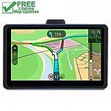 GPS for Car, 7 inches 8GB Lifetime Map Update Spoken Turn-to-Turn Navigation System for Cars, Vehicle GPS Navigator, SAT NAV (Color: Model M)