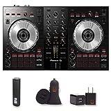 Pioneer DJ (DDJ-SB3) DJ Controller with 2 Year Warranty + PowerBank + USB Car Charger + USB Wall Charger, EZEE Bundle (Tamaño: DDJ-SB3)