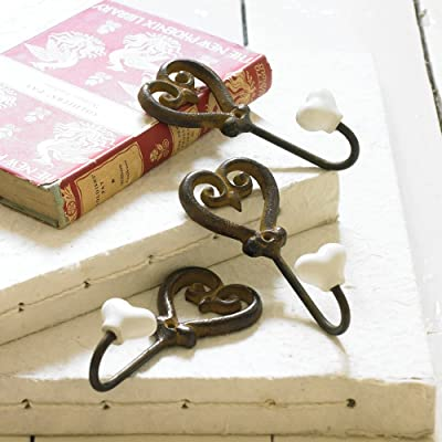 Cast Iron Heart Shaped Hook