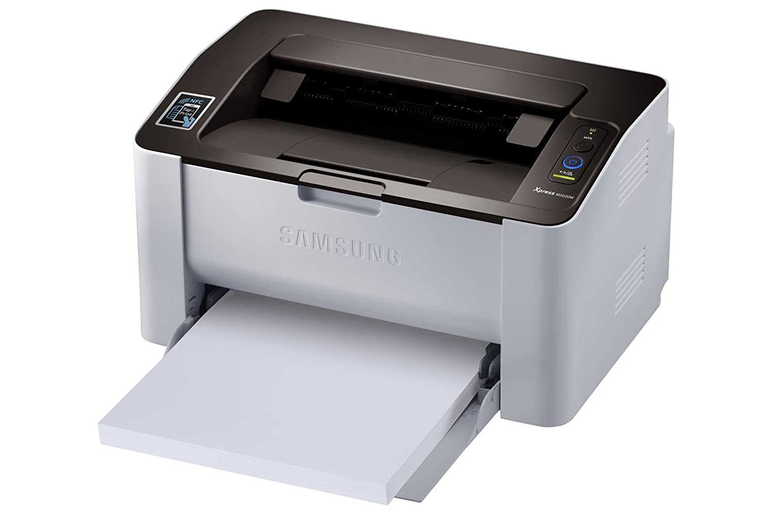 Samsung monochrome printer is good for the office, dorm room, or business.