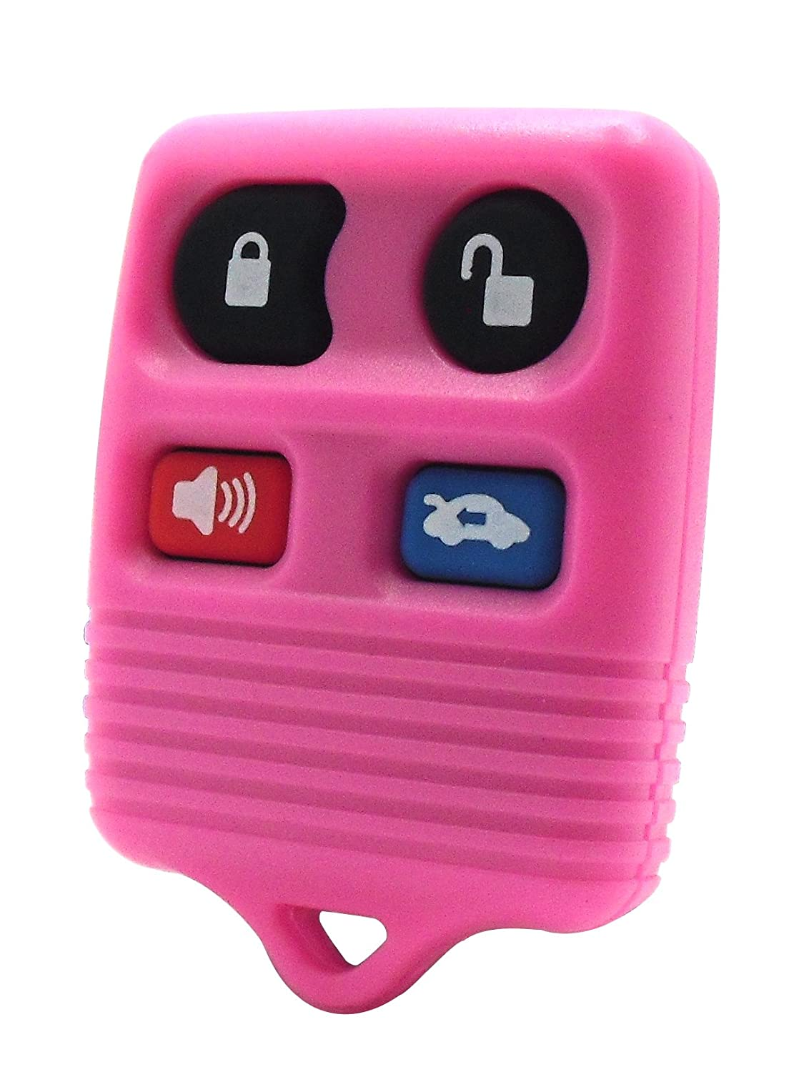 2003 03 Ford Taurus Pink Keyless Entry Remote - 4 Button