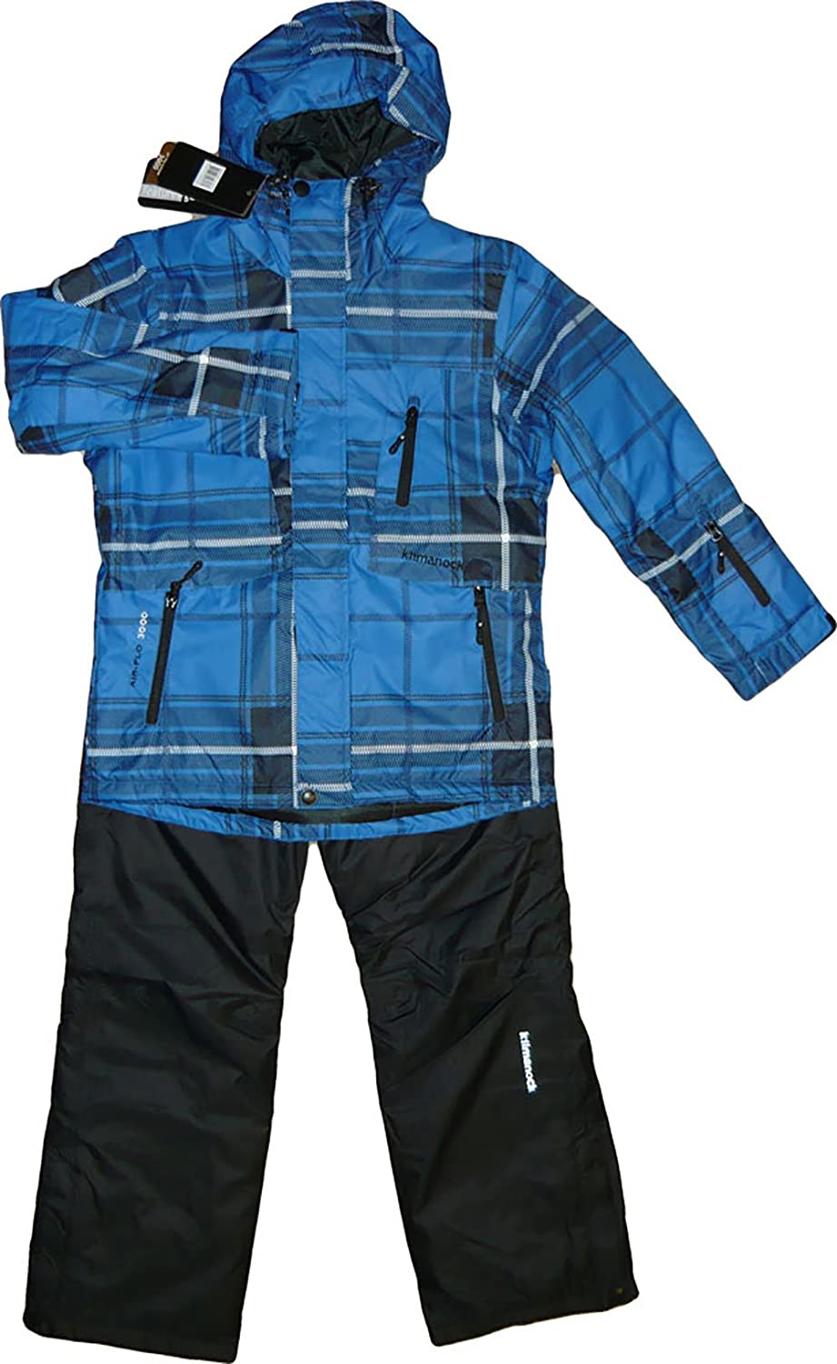 Kilmanock.Ski-Anzug, Gusty Ski Set Junior Air-flo 3000, Nautical Blue. 201389-1102 günstig online kaufen