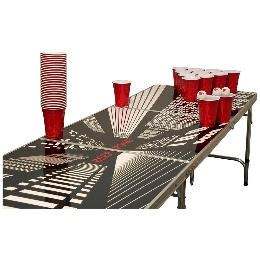 Vanishing Beer Pong Tisch Set – 1 Beer Pong Tisch inkl. 50 SOLO Red Cups und 6 Bällen günstig bestellen