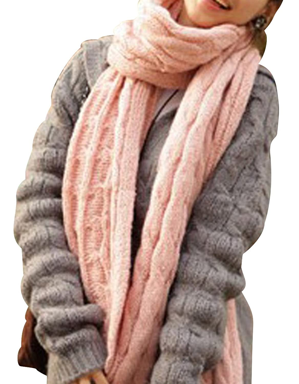 YXCS Fashion Unisex Winter Infinity Warm Soft Knit Scarf Shawl