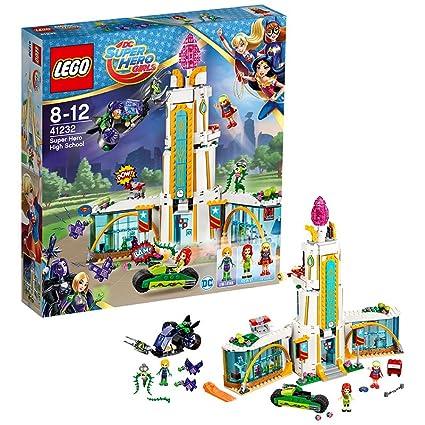 LEGO - 41232 - Dc Super Hero Girls - Jeu de Construction - L'école des Super Héros