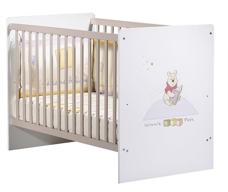 SAUTHON – Lit bébé 120 x 60 – Weiß – Blanc
