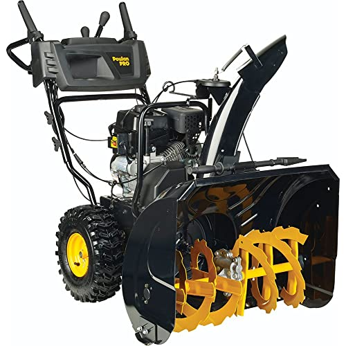 Poulan PRO PR270 961920090 Two Stage Electric Start Snow Thrower 27-Inch 208cc