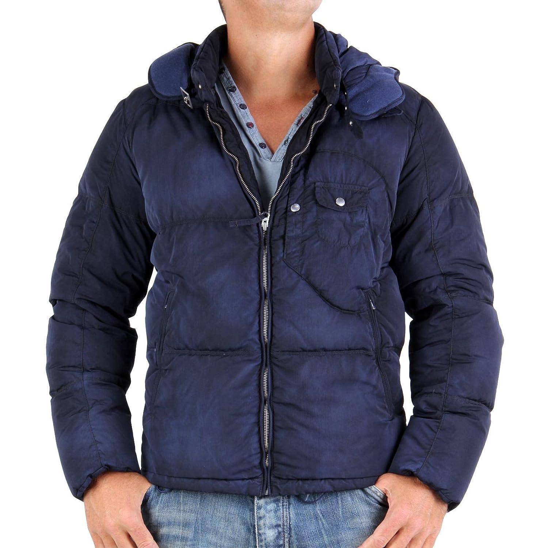 C.P. COMPANY Herren Winter Daunen Goggle Jacke Navy 367 online bestellen