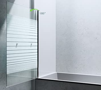 paroi de douche pare douche pare douche pour baignoire verre de s curit cortona1122 bricolage. Black Bedroom Furniture Sets. Home Design Ideas