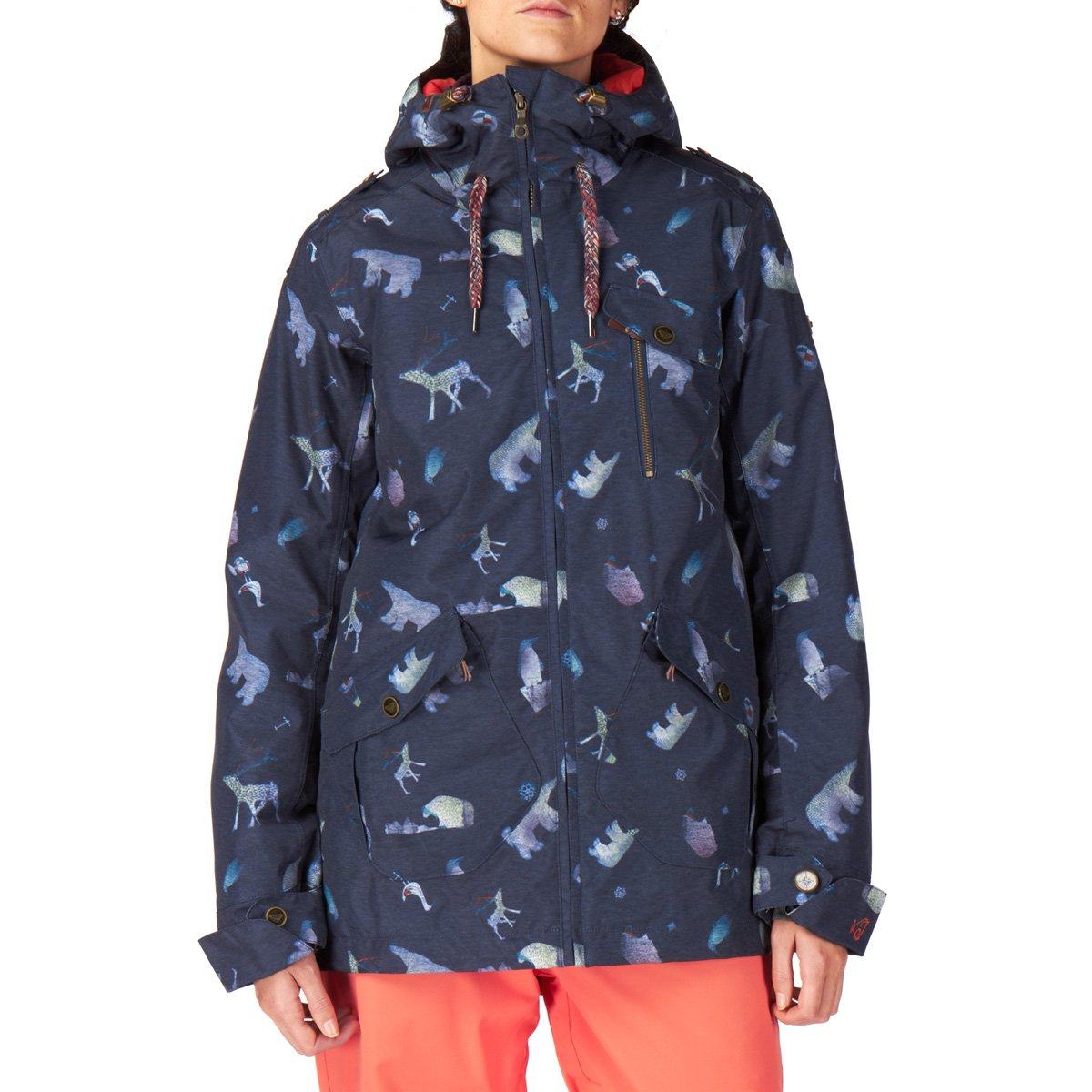 Damen Snowboard Jacke Roxy Kjersti Printed Jacket