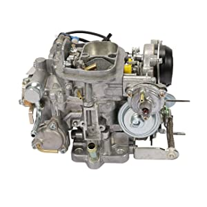 35290//2.4L 2366cc // C4036 Partol Carburetor for Toyota TOY-505 1981-1987 2 Barrel 22R Engine Carb with Green Round Plug Automatic Choke