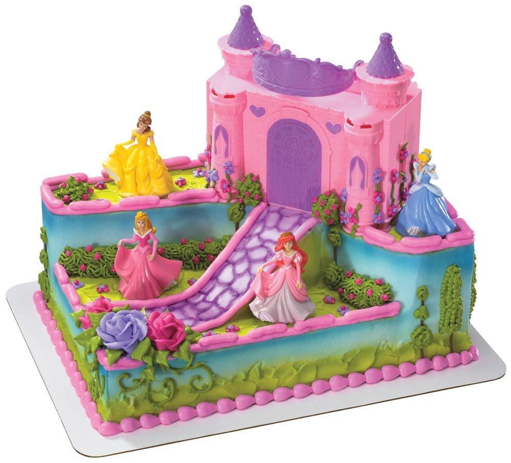 Princess Birthday Cake For Girls Castle Model