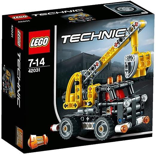 LEGO Technic - 42031 - Jeu De Construction - Le Camion Nacelle
