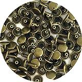 Springfield Leather Company's Antique Brass Medium Double Cap Rivets 100pk (Color: antique brass)