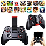 PinShang Controller Wireless Bluetooth Controllers Gamepad Game Controller Joystick for Andriod iOS iPhone