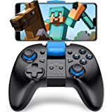 Android Wireless Game Controller, BEBONCOOL Gamepad Remote (for Android Phone/Tablet / Samsung Gear VR/Emulator) Gear VR Gamepad Controller Compatible with Bluetooth