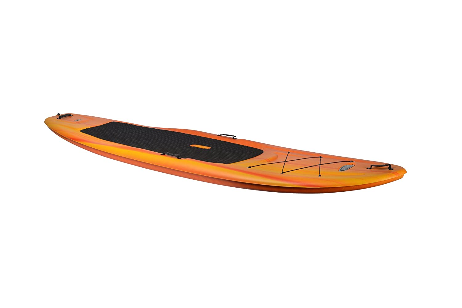 Pelican Flow 106 Stand-Up Paddleboard, Fade Red/Yellow