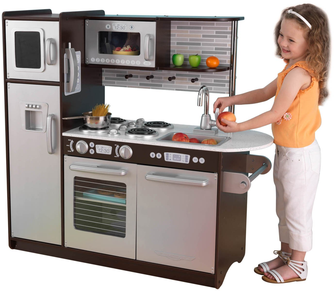 Diy Play Kitchens On Pinterest Play Kitchens Kid Kitchen And Entertainment Center
