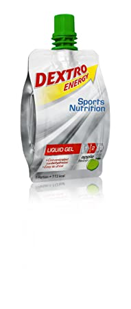 Dextro Energy Sports Nutrition Liquid Gel Apple Flavour, 18er Pack (18 x 60 ml)