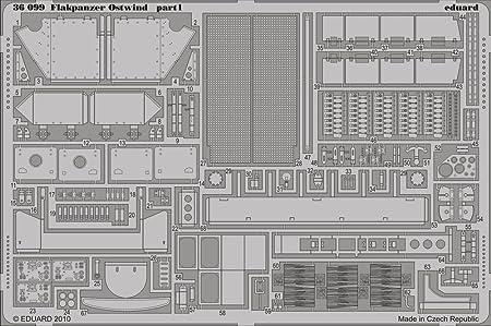 Flakpanzer Ostwind (pour maquettes Dragon)