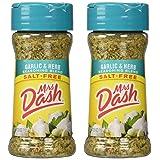 Mrs. Dash Garlic & Herb All Natural Seasoning Blend 2.5 oz - Pack of 2 (Tamaño: Pack of 2)