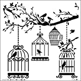 Crafters Workshop 474769 Template, 6 by 6-Inch, Birds of a Feather