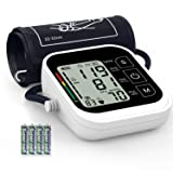 Blood Pressure Monitor,Ivkey Automatic Digital Upper Arm Blood Pressure Monitor and Heart Rate Pulse with Large Cuff for Home Use,Large 3.5