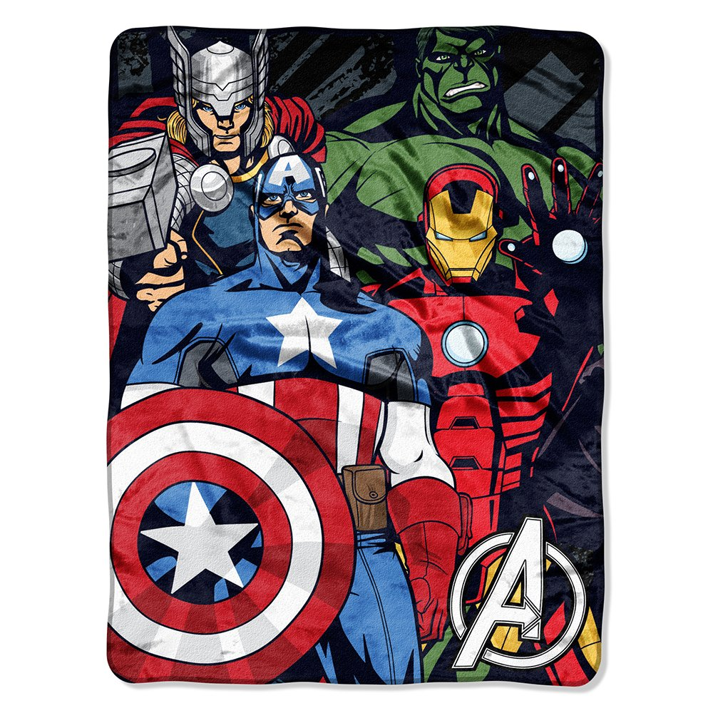 Marvel Avengers Assemble Micro Raschel Throw