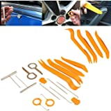 SFASTER 12PCS Stereo Radio Removal Repair Portable Tool Kits Car Audio Door Clip Panel Trim Dashboard Tool