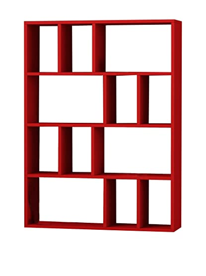 Decortie by Homemania Libreria Donie Rosso
