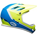 Bell Sanction Bike Helmet - Gloss Force Blue/Retina Sear Assassin Small