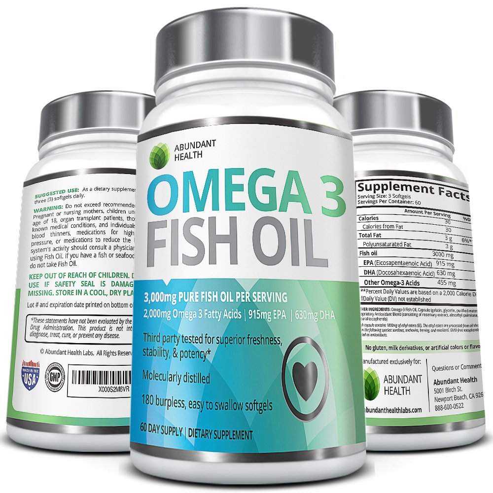 top 10 best omega 3 fish oil nutritional supplements