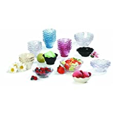 Carlisle 4530-907 Tulip Dessert Dish, 5.4 oz, Clear (Case of 48)