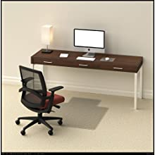 Tenex Planet-Saver Foldable Chairmat, Rectangular, 46 x 60 Inches, 0.1 Inch thickness, Gripper Back Style (13321030F)