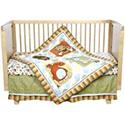 Babys First Monsters Party Crib Bedding Collection