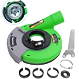 Diment Power Dust Shroud,Surface Grinding Dust Shroud for Angle Grinders 4.5-inch/ 5-inch,green (Color: Green, Tamaño: 4.5 inch/ 5 inch)