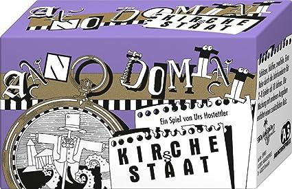 """Abacusspiele 9981 - Jeu de société """"Anno Domini, Kirche und Staat"""" - Langue: allemande"""