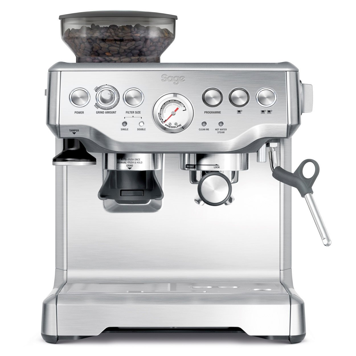 The Barista Express is arguably the best bean to cup coffee machine out on the market right now.